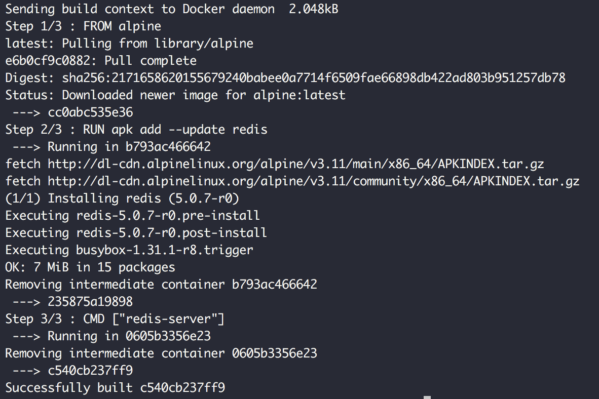How to create docker images